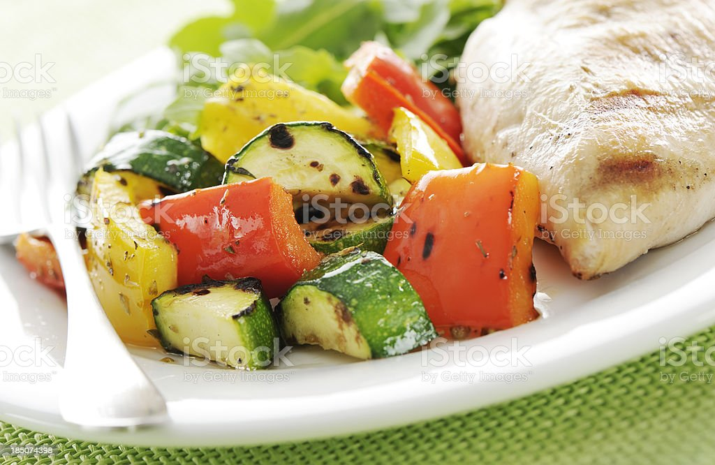 Healty meal stock photo