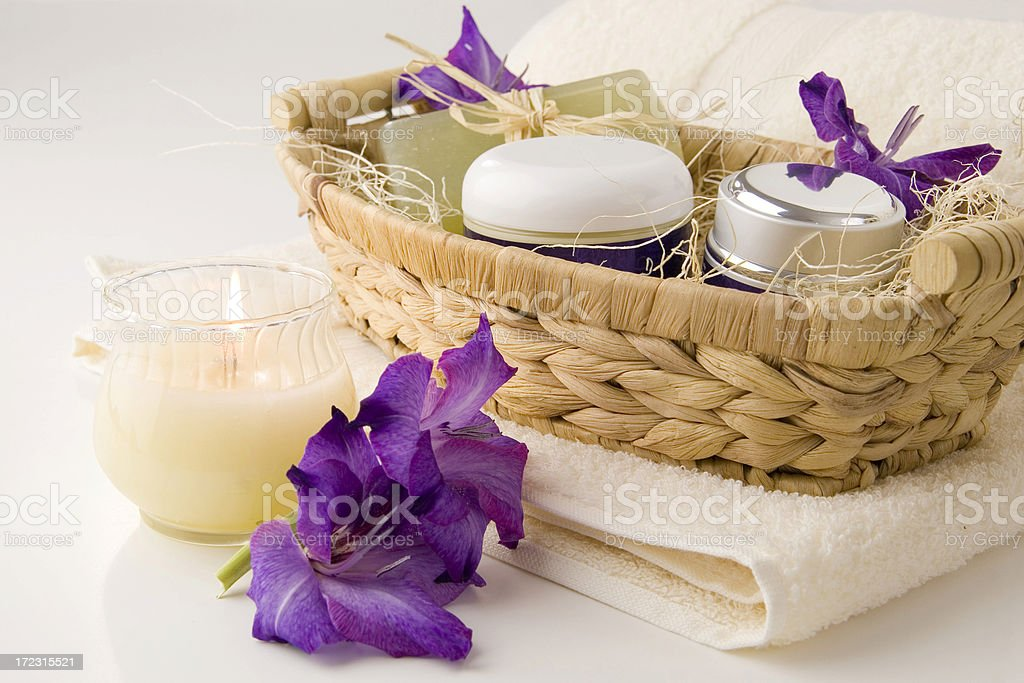 Healty relaxation royalty-free stock photo