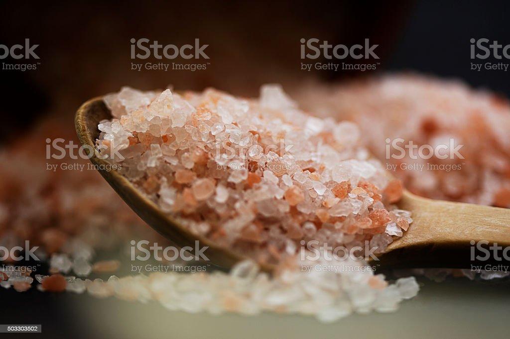 Healty salt. stock photo