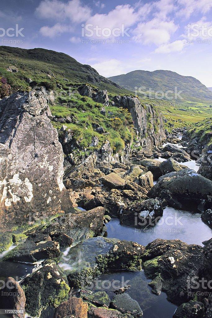 Healy Pass stock photo