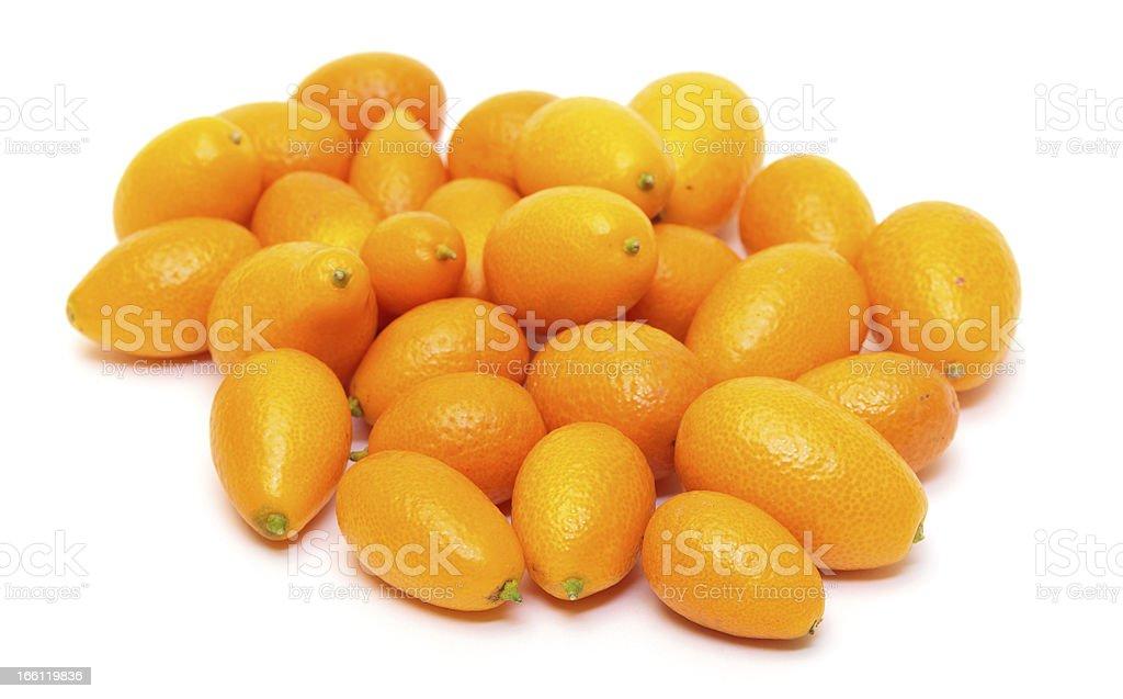 Heap Kumquat fruit (Fortunella) royalty-free stock photo