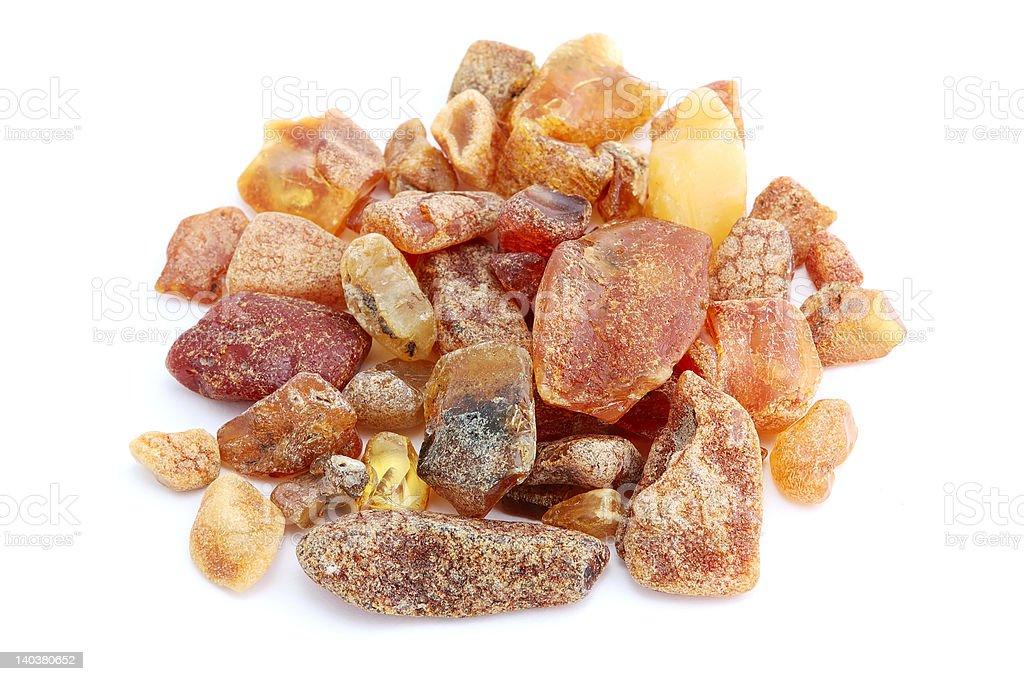 heap of amber royalty-free stock photo
