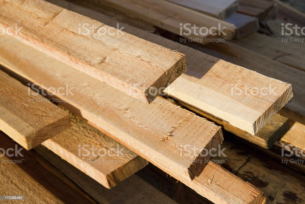 Heap of boards royalty-free stock photo