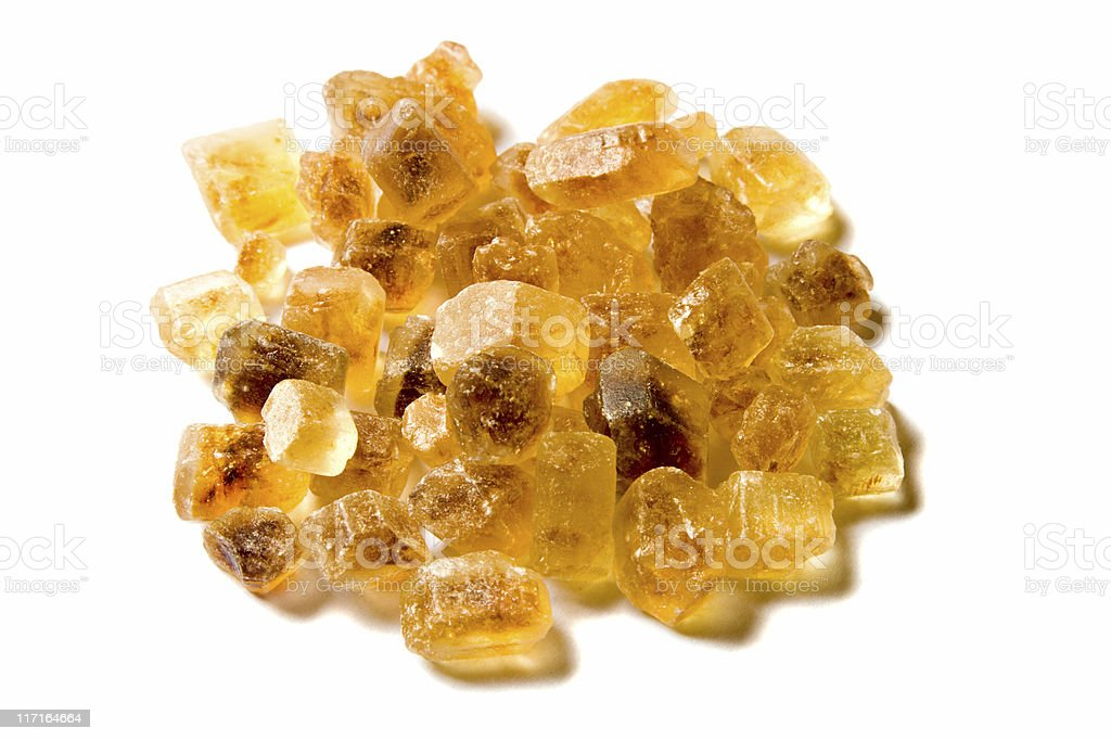 Heap Of Brown Sugar royalty-free stock photo