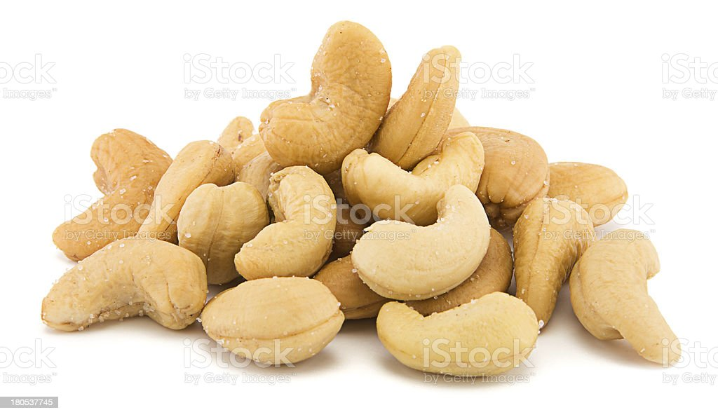 Heap of Cashew stock photo
