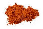 heap of chili powder