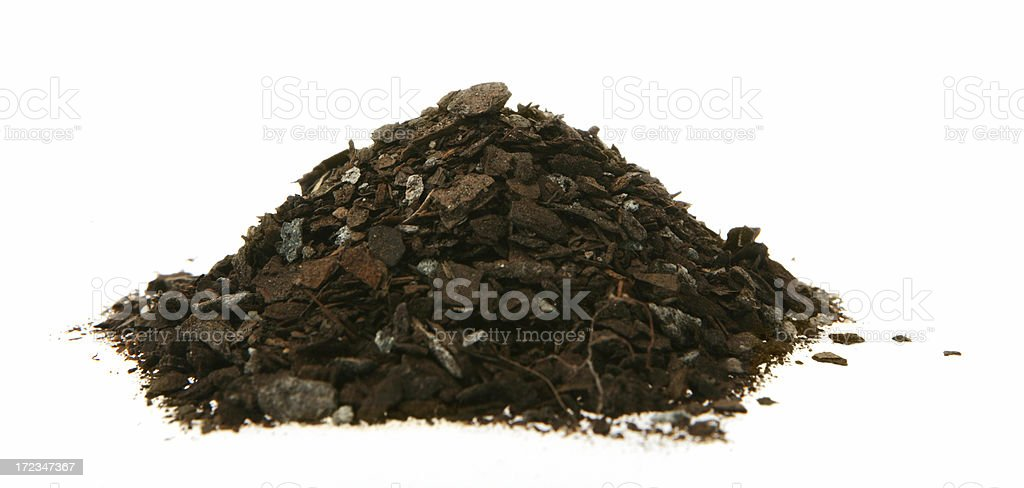 Heap of Dirt royalty-free stock photo