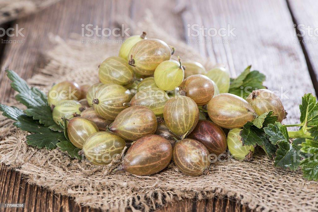Heap of Gooseberries royalty-free stock photo