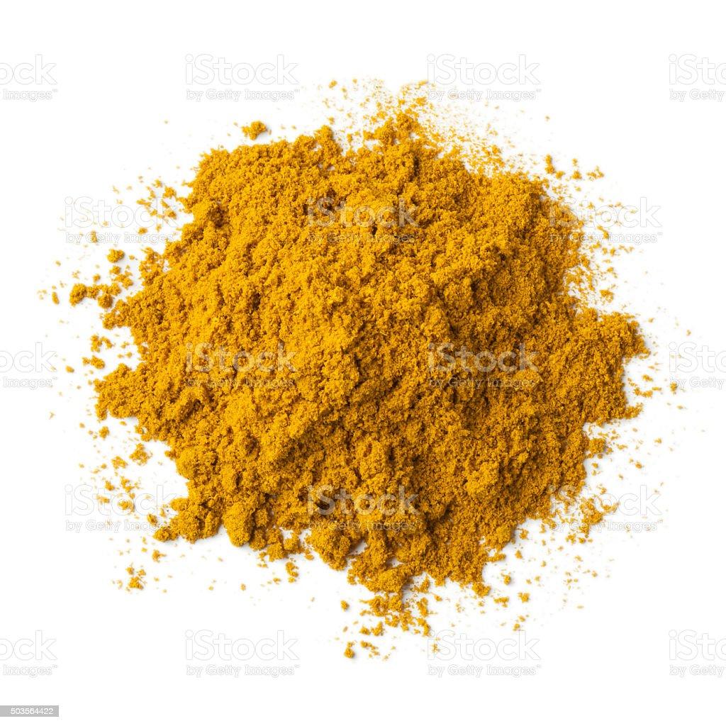 Heap of ground Garam masala stock photo