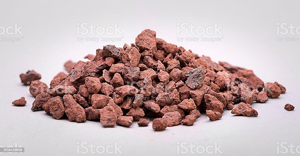 Heap of Iron Ore stock photo