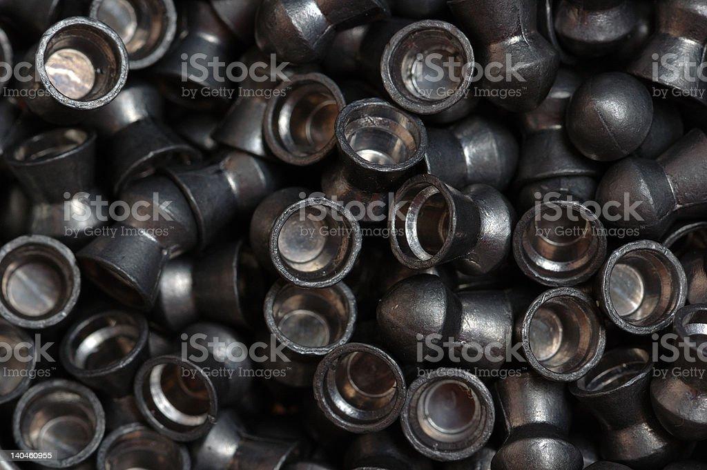 heap of lead pellet royalty-free stock photo