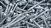 Heap of long screws