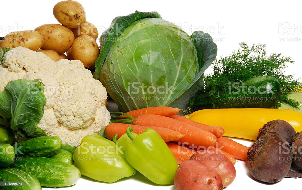 Heap of multi fresh vegetables royalty-free stock photo