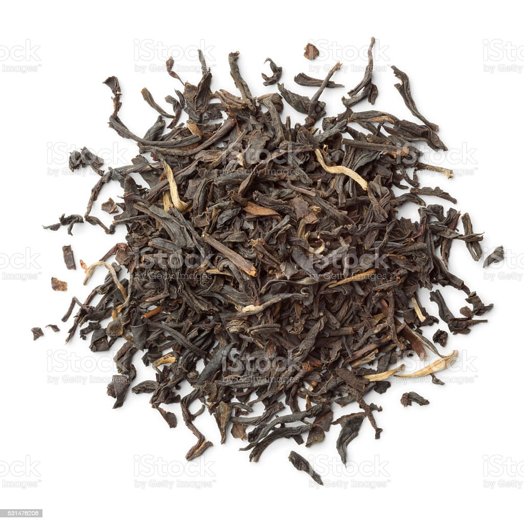 Heap of Nan-Yu tea stock photo
