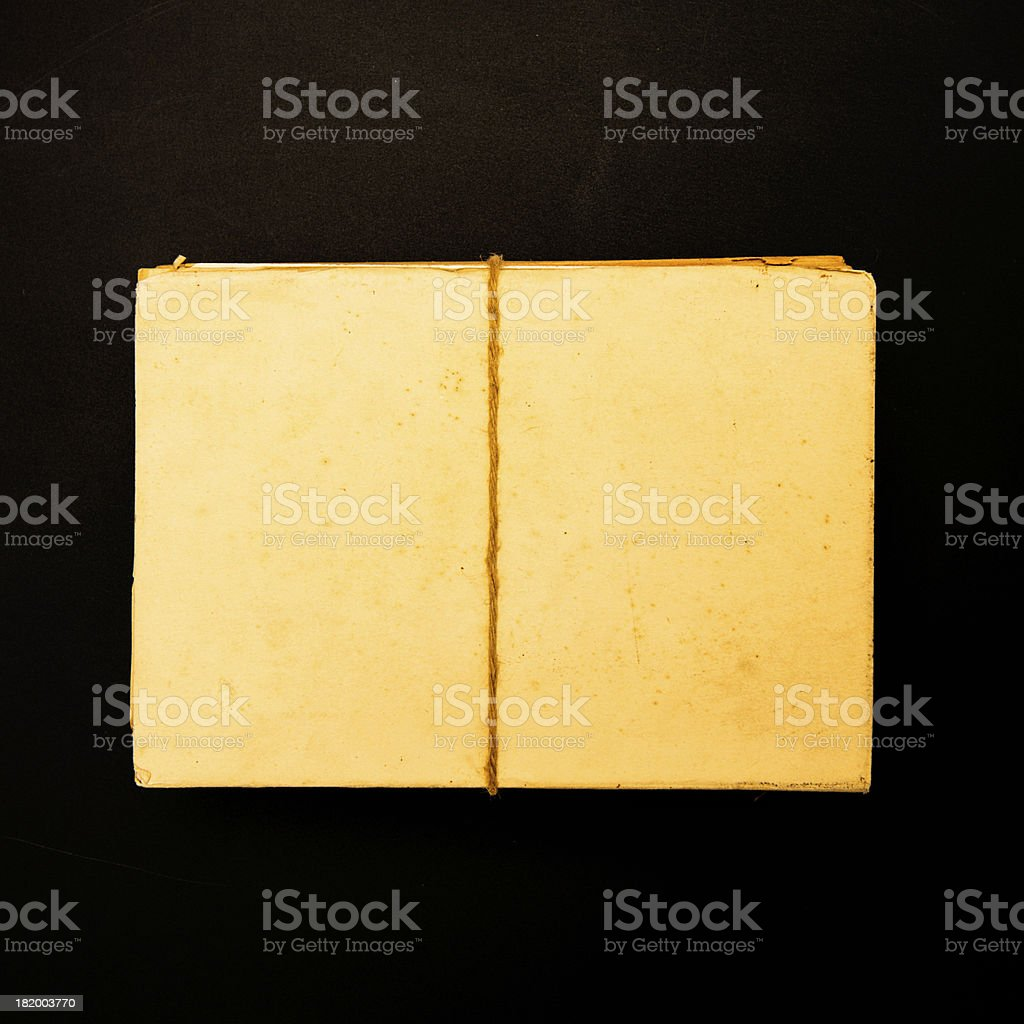 Heap of old documents royalty-free stock photo