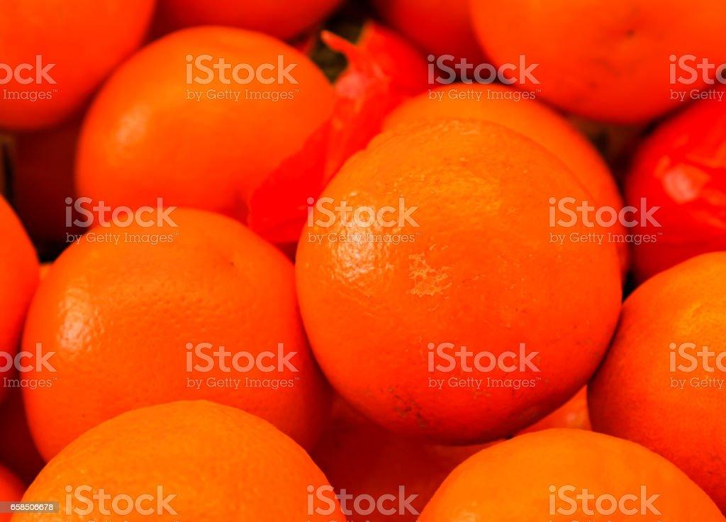 Heap of Oranges stock photo