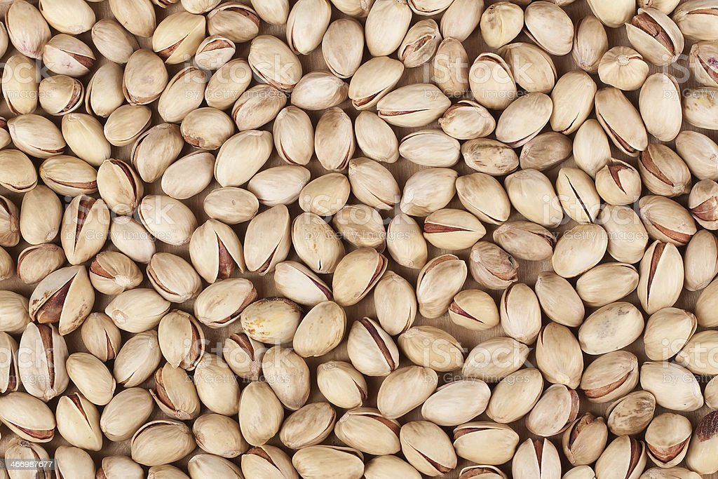 Heap of pistachios royalty-free stock photo