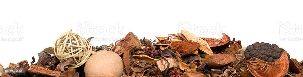 heap of potpourri stock photo