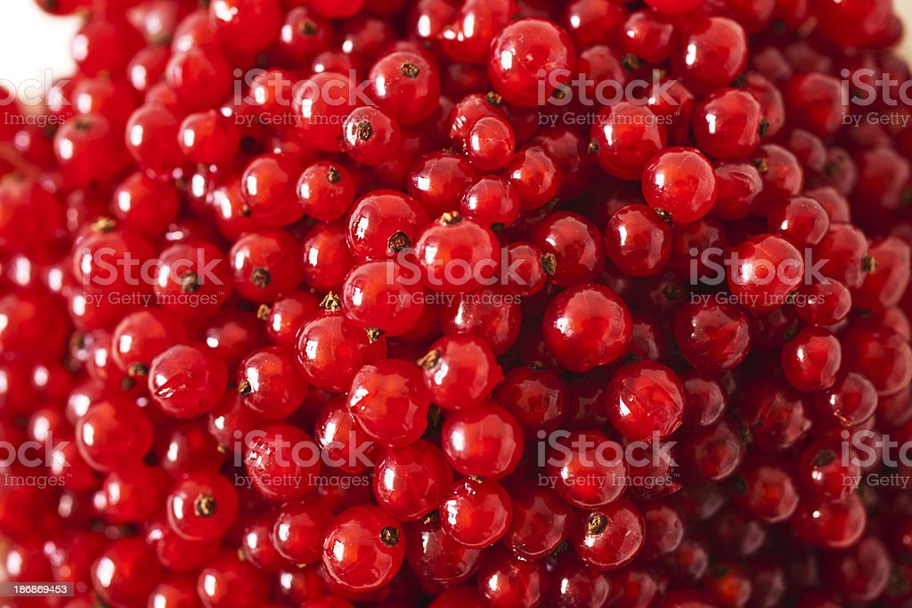 Heap of ripe juicy red currant. royalty-free stock photo