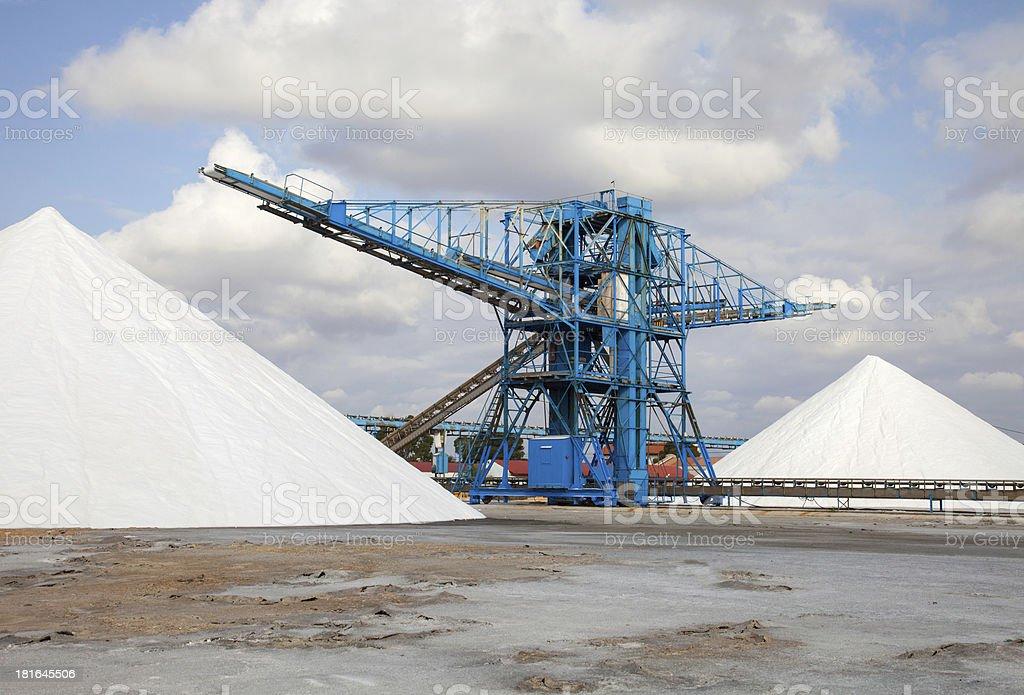 heap of salt royalty-free stock photo