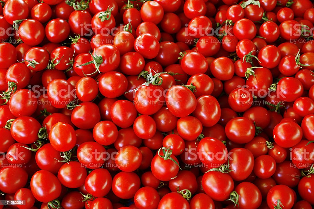 heap of tomatoes stock photo
