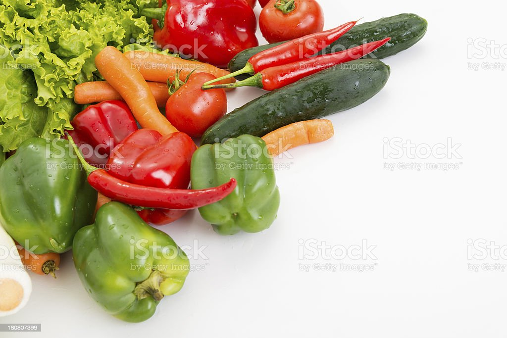 Heap of vegetables royalty-free stock photo