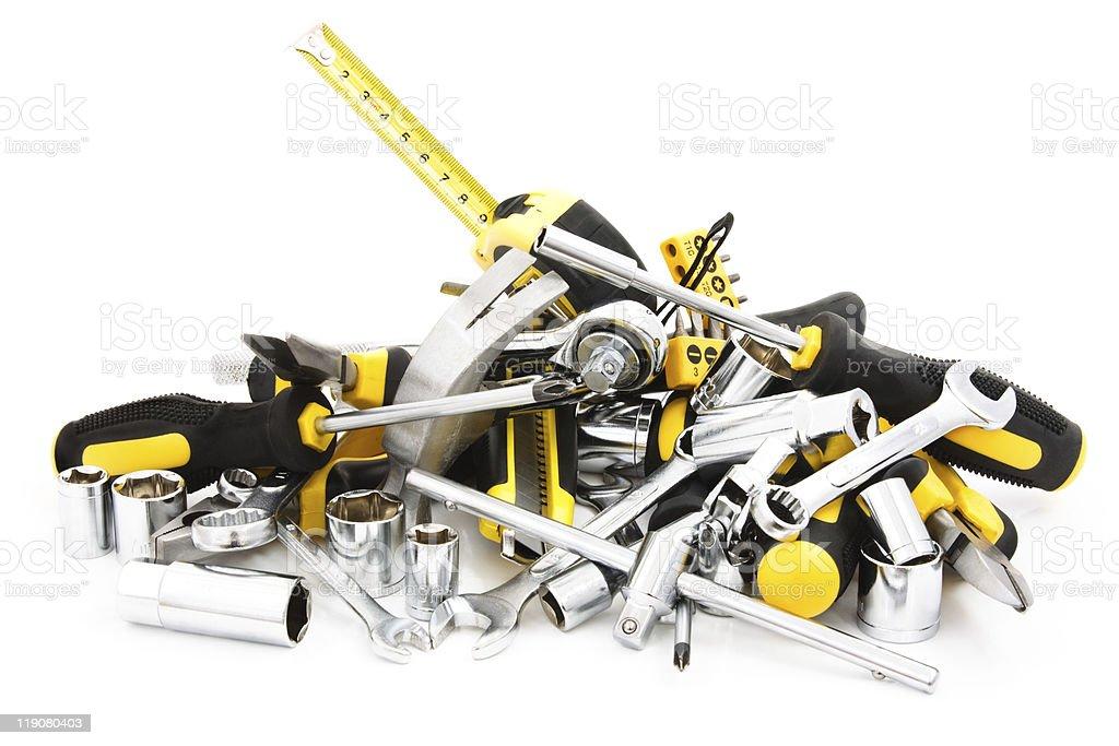 heap tools stock photo