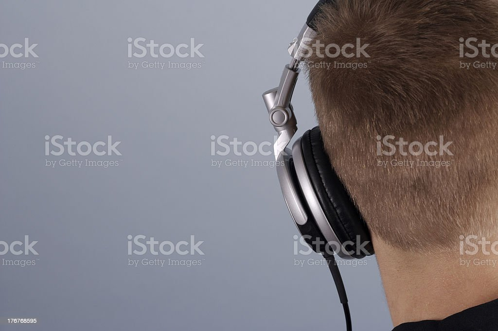 Hear the music royalty-free stock photo