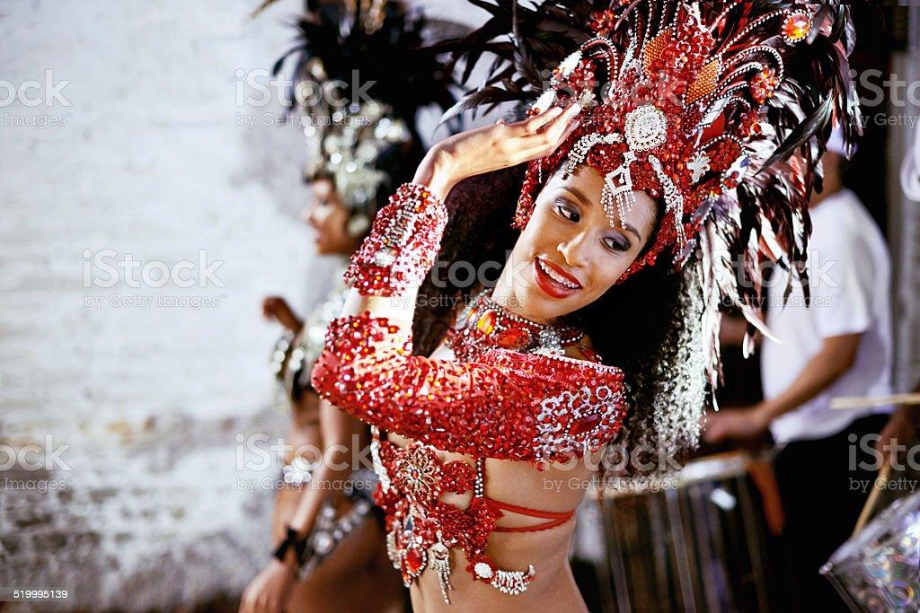 Hear the sound of samba stock photo