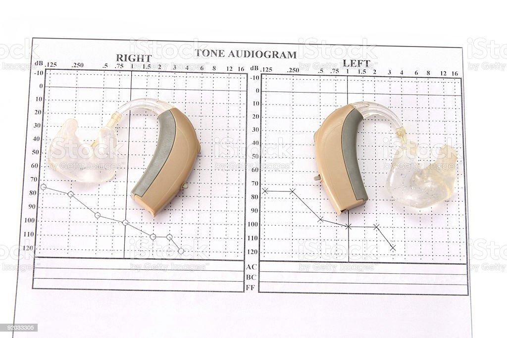 hearing aid royalty-free stock photo