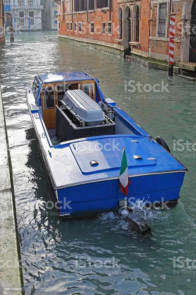 Hearse Boat stock photo