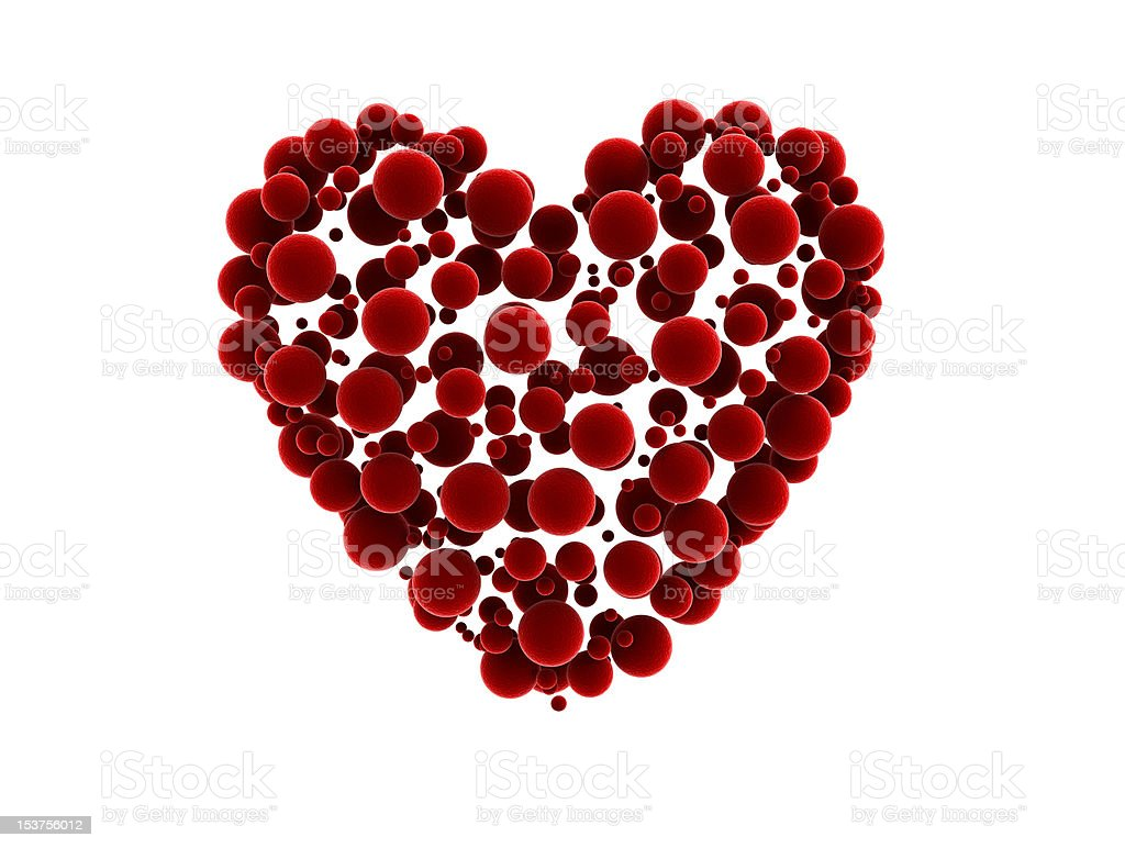 Heart Abstract Design royalty-free stock photo