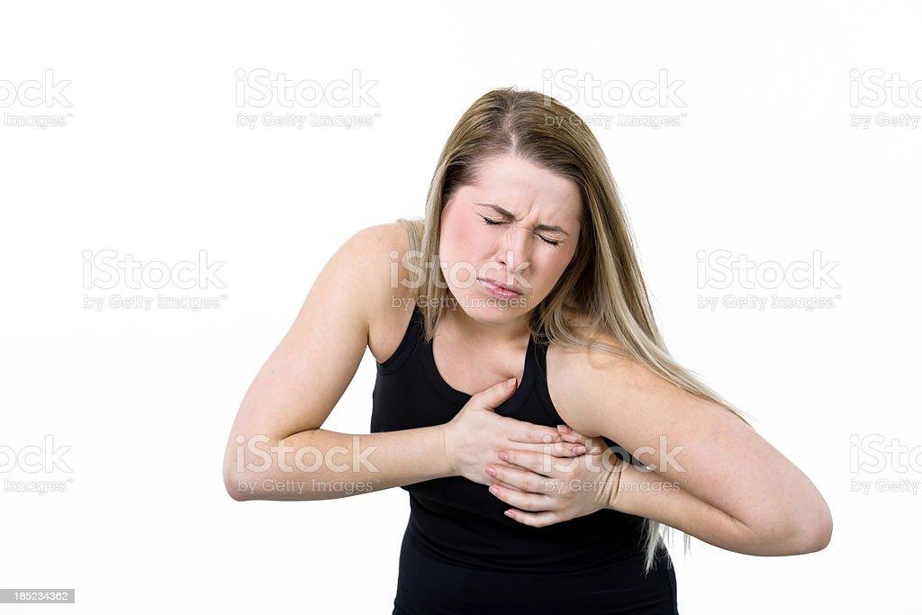 heart atack royalty-free stock photo