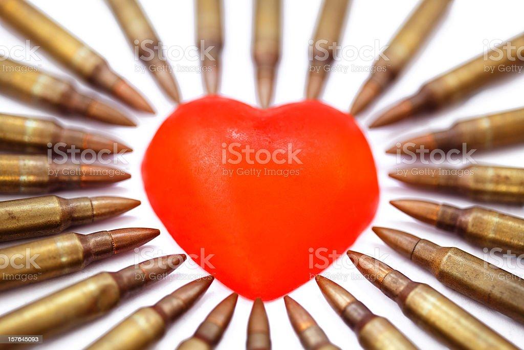 Heart Attack - Bokeh royalty-free stock photo