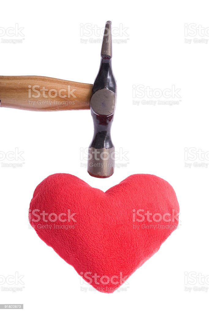 Heart attacking stock photo