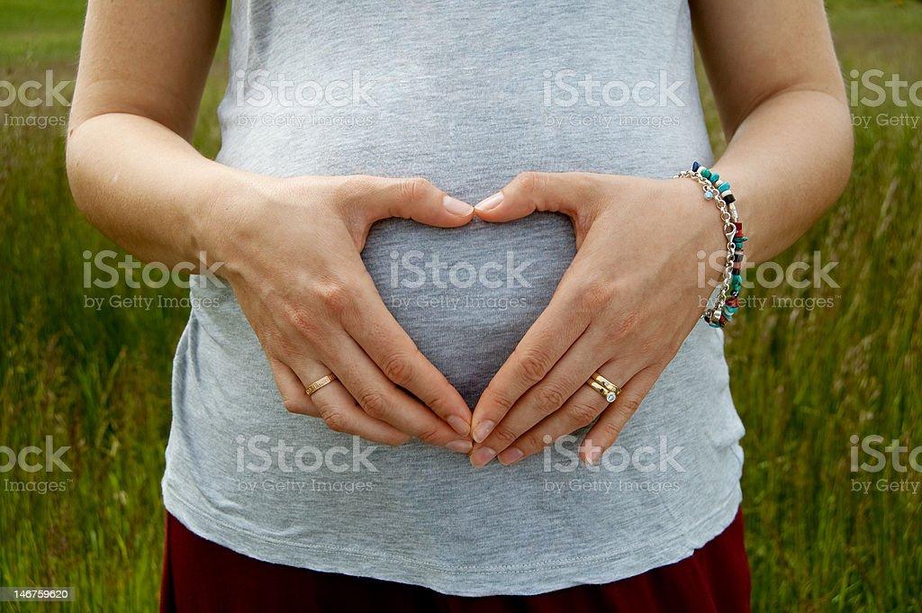 I heart babies royalty-free stock photo