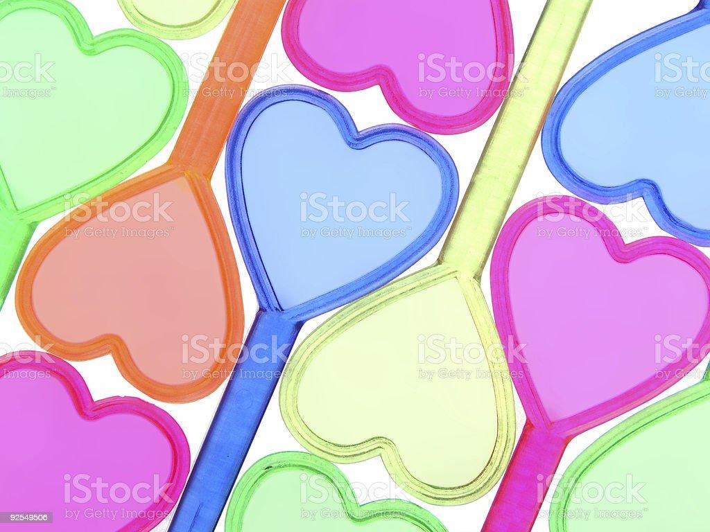 Heart background 9 stock photo