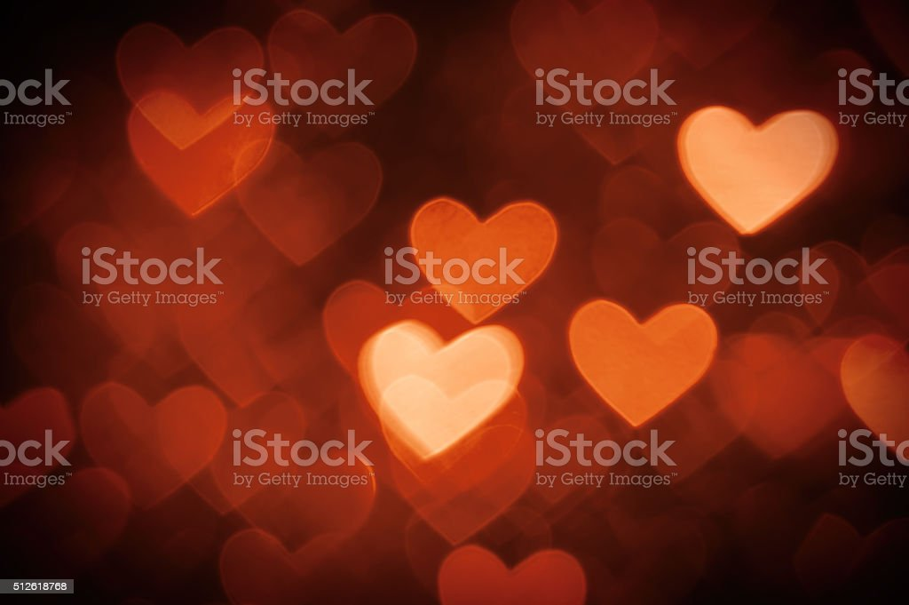 heart background photo brown color stock photo