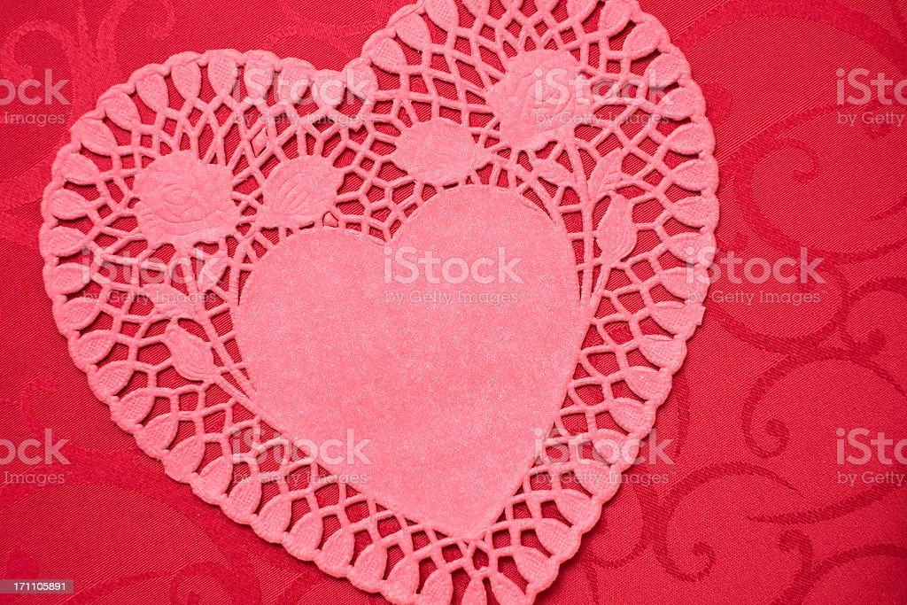 Heart background royalty-free stock photo