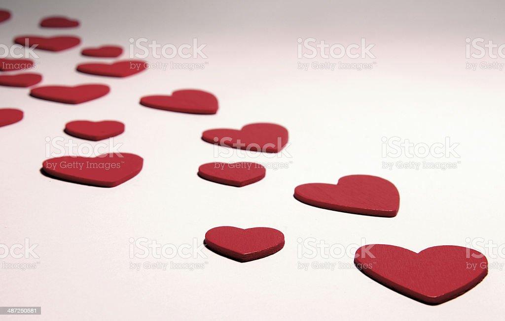 Heart Background stock photo