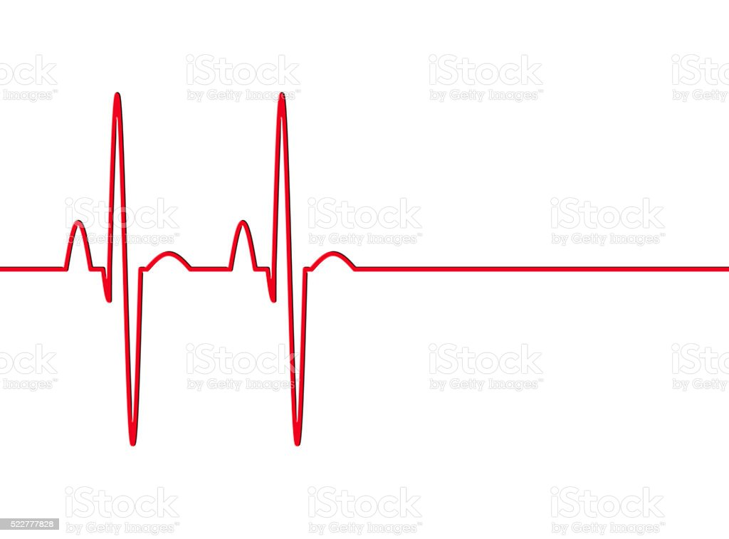 Heart Beat Pulse stock photo