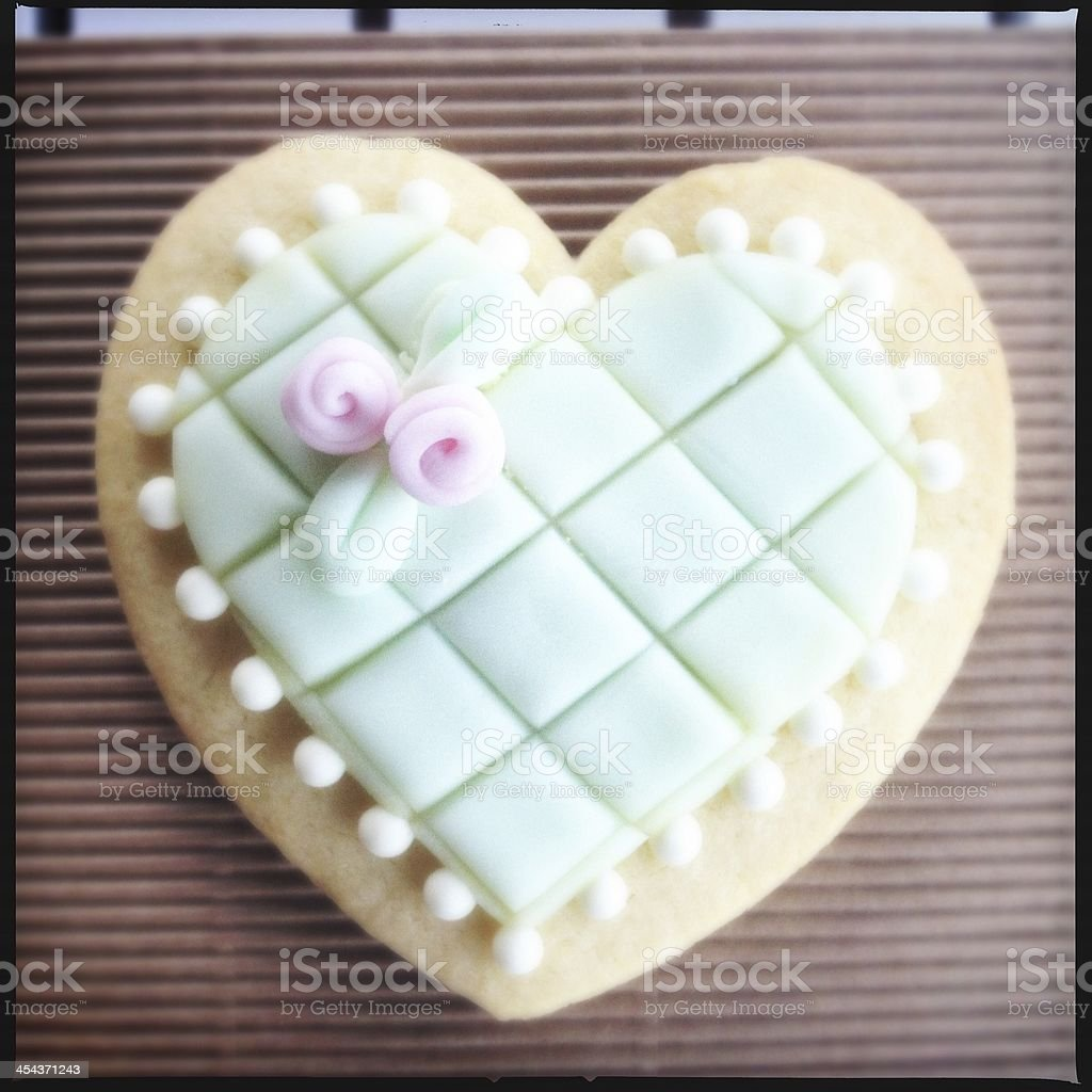 Heart biscuit royalty-free stock photo