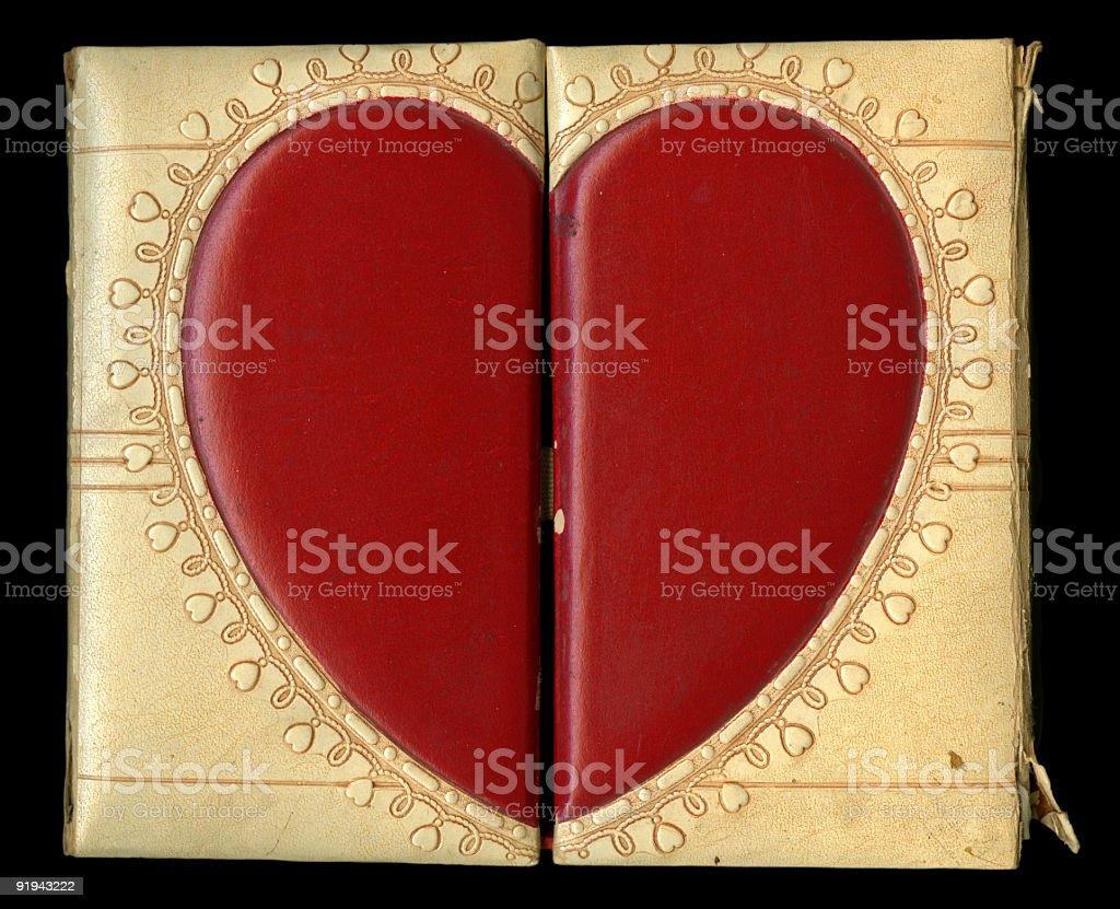 Heart Box royalty-free stock photo