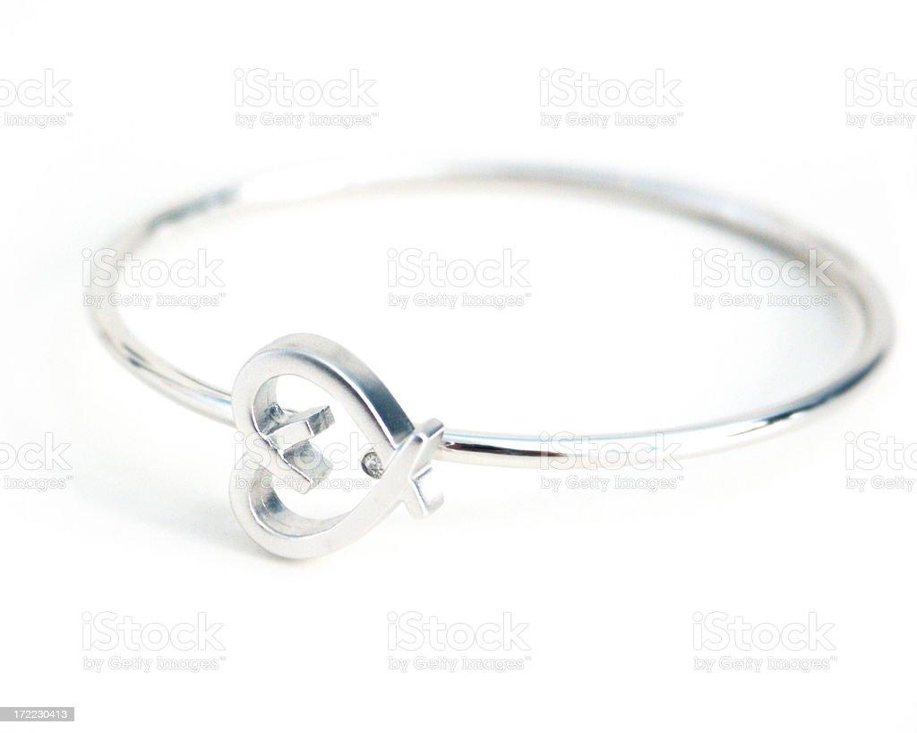 Heart Bracelet stock photo