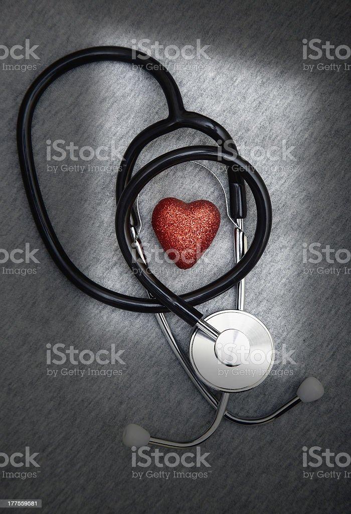Heart care royalty-free stock photo