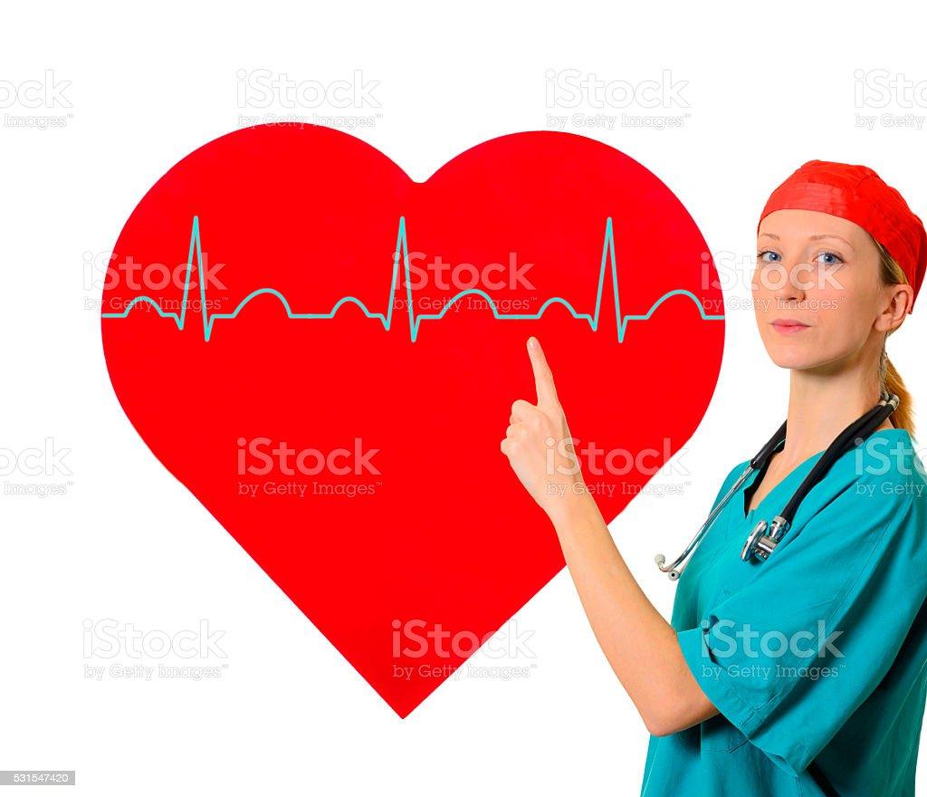 Heart care stock photo
