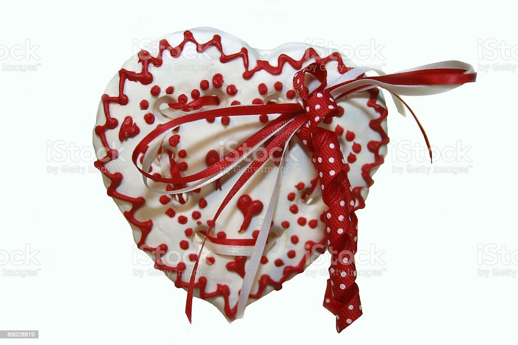 Heart Cookie 2 royalty-free stock photo