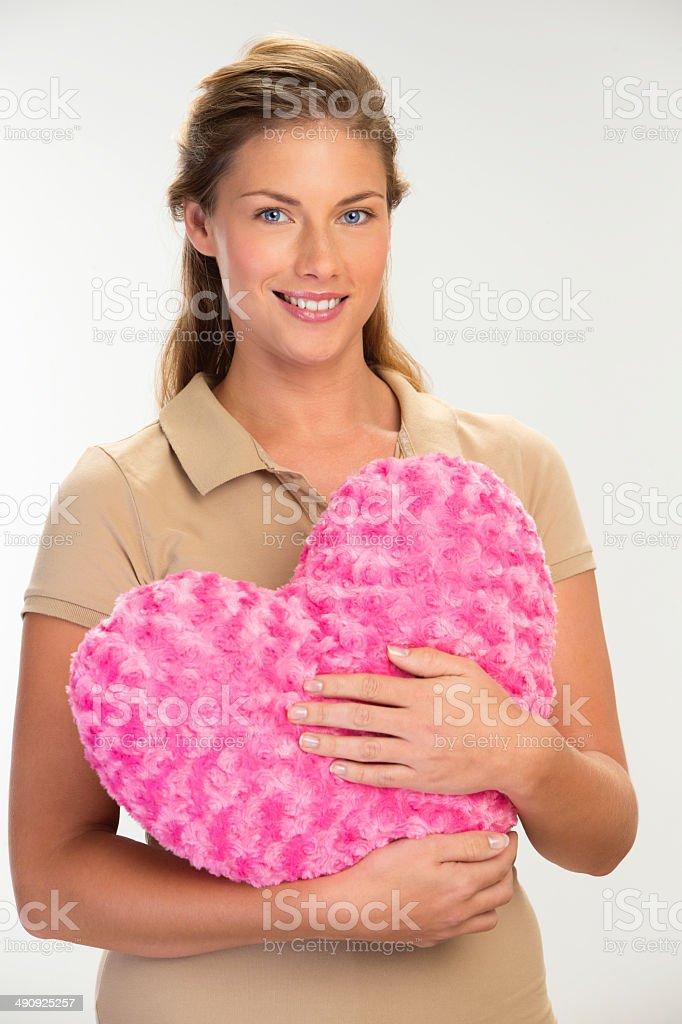 Heart Cushion royalty-free stock photo
