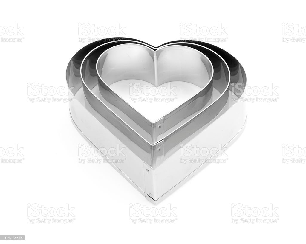 Heart Cutters royalty-free stock photo