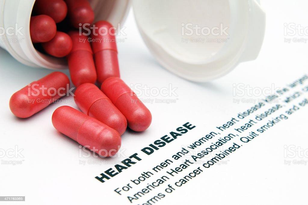 Heart disease concept stock photo
